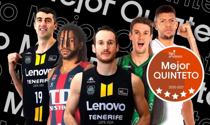 Dos brasileños dicen presente en el mejor 5 de la liga española / ACB
