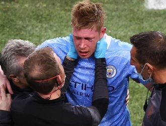 El centrocampista belga del Manchester City/Foto cortesía