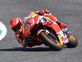 El español Marc Márquez (Repsol Honda RC 213 V) se ha mostrado satisfecho de su evolución en la c