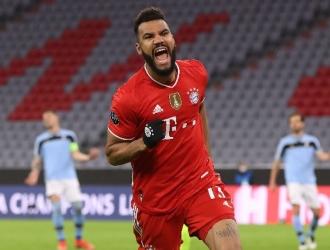 Choupo-Moting marcó nueve goles para el Bayern en todas la competiciones / foto cortesía