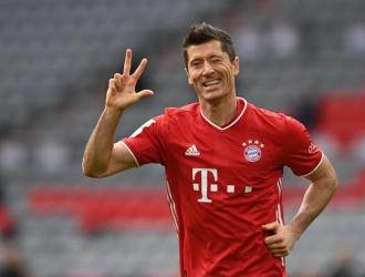 Lewandowski ha batido el récord de goles en una temporada de la Bundesliga / foto cortesía