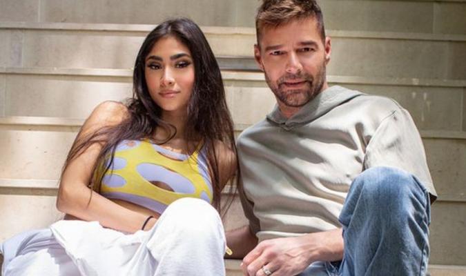 Ricky Martin y Paloma Mami/Foto cortesía