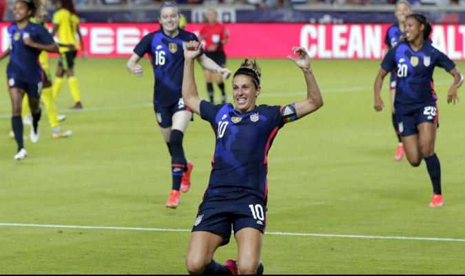 La selección de Estados Unidos se prepara para acudir a los Juegos Olímpicos de Tokio 2020 / foto