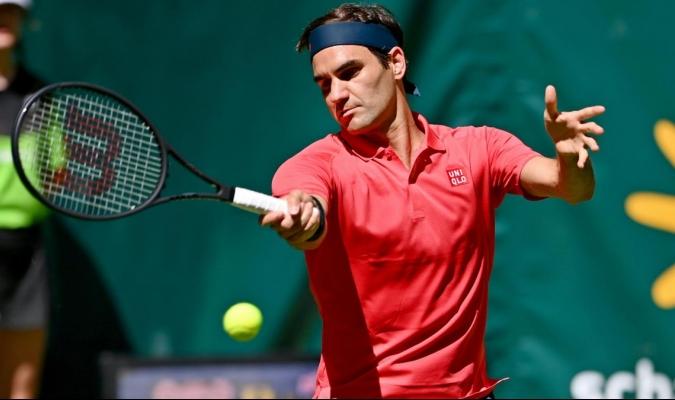 Federer no competía en hierba desde hace casi dos años / foto cortesía