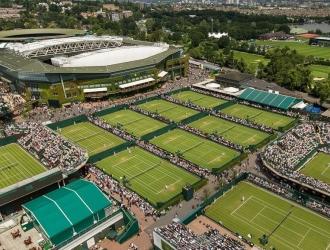 Las finales de Wimbledon se disputarán ante 15.000 espectadores/Foto cortesía
