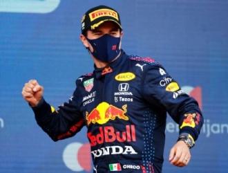 El Gran Premio de Azerbaiyán se vio interrumpido por una bandera roja  / foto cortesía