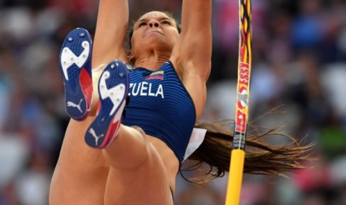 La princesita saltó un total de 4.55 metros / ARCHIVO