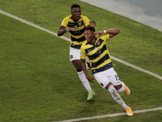 El ecuatoriano hizo el 1-2  EFE