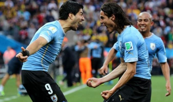 114 goles suman entre Cavani en Suárez en 119 partidos jugando juntos /EFE