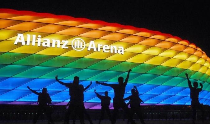 UEFA rechaza iluminación arcoiris del Allianz Arena en el Alemania-Hungría    Cotilleo Deportivo 123  Meridiano.net