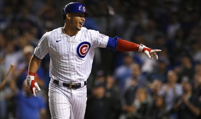 El criollo hace vibrar a la enérgica afición de los Cubs   AP