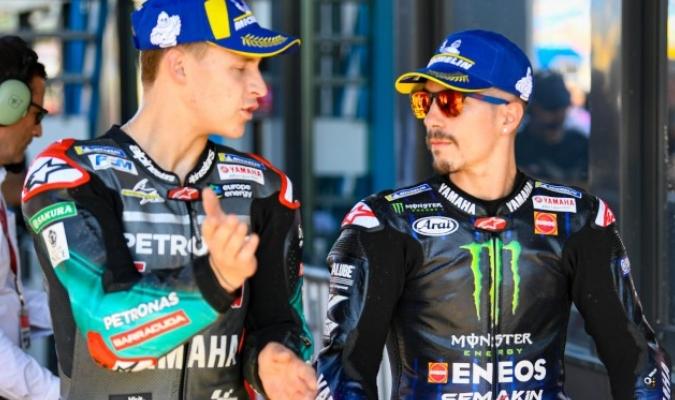 Ambos pilotos oficiales de Yamaha/Foto cortesía