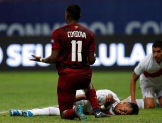 Córdova falló un tiro clave / Foto: EFE