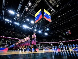 Venezuela no pudo ante la actual campeona del Eurobasket / Foto FIBA