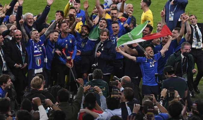 Italia ganó su segunda Eurocopa