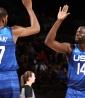 Estados Unidos, que busca su cuarto oro olímpico consecutivo, esta vez no dejó margen al rival / f