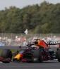 Max Verstappen (Red Bull), líder del campeonato, marcó el mejor tiempo este viernes en el primer e