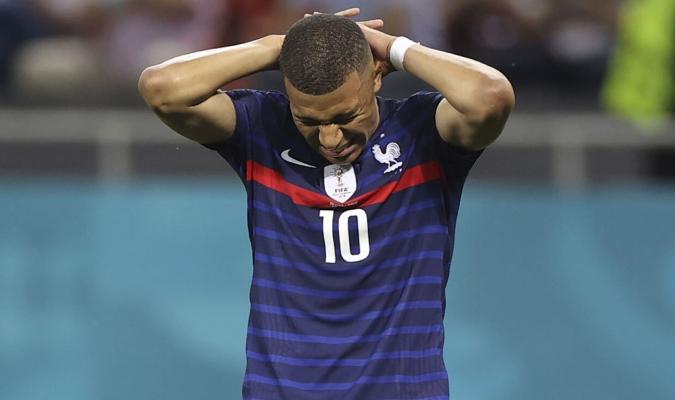 Mbappé no convitió goles