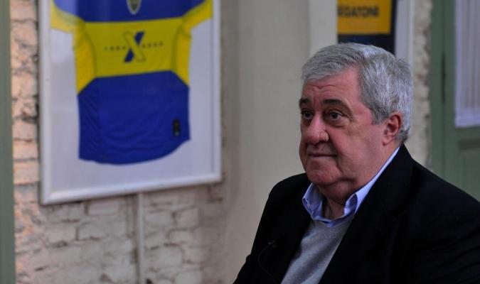 El presidente de Boca Juniors, Jorge Amor Ameal/Foto cortesía