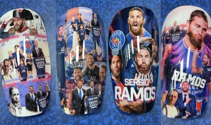 Las nuevas protecciones de Ramos a su imagen con el PSG