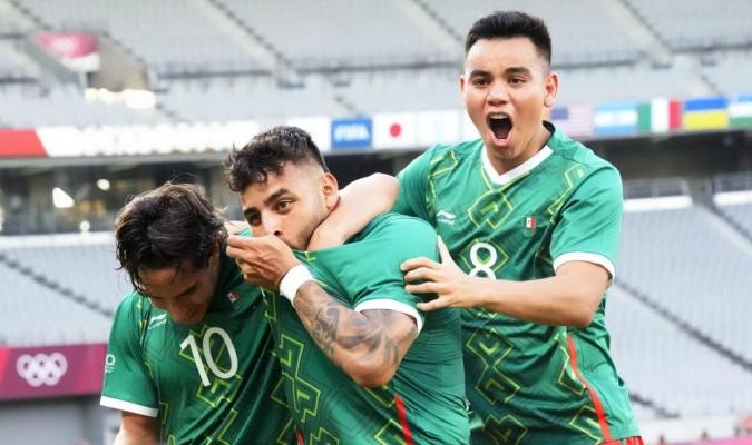 La selección mexicana de fútbol comenzó su andadura en los Juegos Olímpicos de Tokio con una con