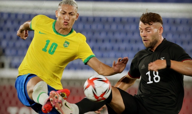 La selección brasileña de fútbol arrancó su camino/Foto cortesía