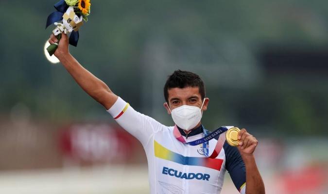 El ecuatoriano Richard Carapaz campeón olímpico de ciclismo en ruta |  Olimpismo 123| Meridiano.net