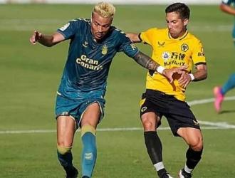 Peñaranda marcó el 0-2 de Las Palmas