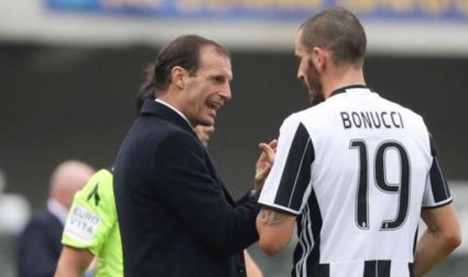 Bonucci deberá ganarse el ser capitán en la Juventus