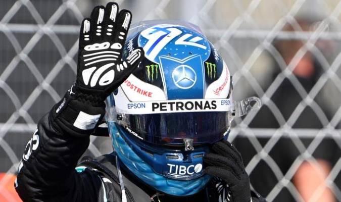 Bottas arrancará de segundo en el GP de Hungría