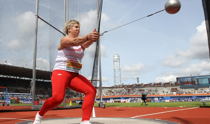 La polaca Anita Wlodarczyk, campeona en Londres 2012 y Río 2016/Foto cortesía