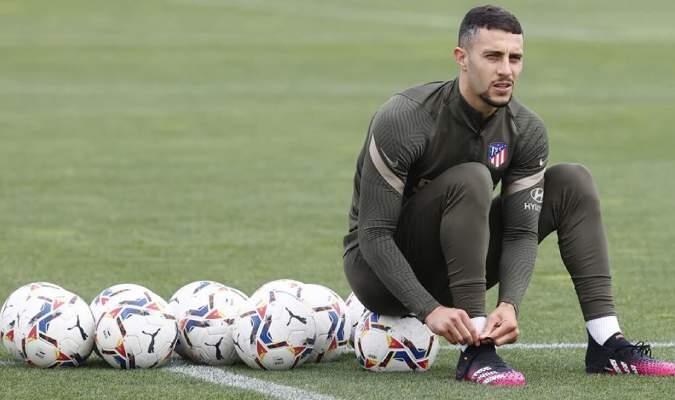 El futbolista está perfectas condiciones según el parte médico ofrecido por el Atlético