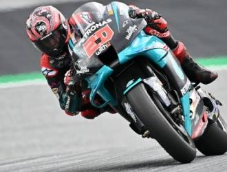 Fabio Quartararo dice ser más fuerte que los pilotos de Ducati en la frenada