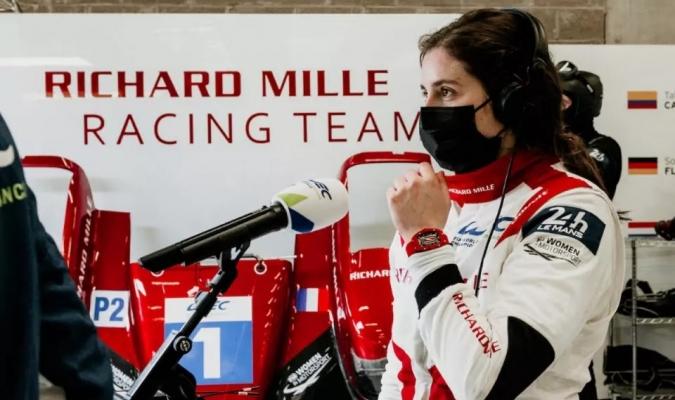 Tatiana Calderón correrá las 24 Horas de Le Mans / foto cortesía