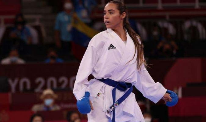 A un solo punto se quedó Garcés de obtener medalla.