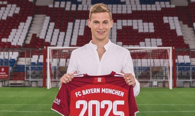 El presidente del Bayern, Herbert Hainer, mostró su satisfacción por poder contar con Kimmich en e