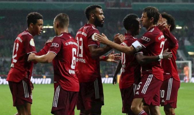 Sin sus grandes figuras el Bayern dominó el partido ante Bremer