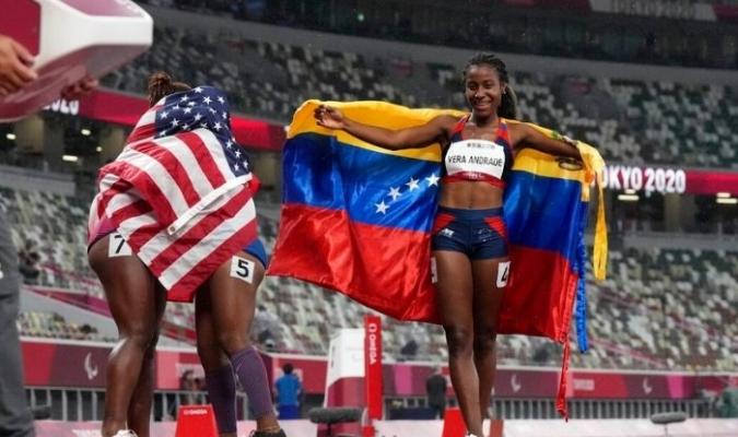 La segunda dorada para Venezuela en esta edición en menos de 24 horas / foto cortesía