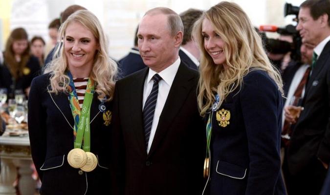 Putin expresó la seguridad de que los tiempos difíciles para el atletismo ruso concluirán pronto