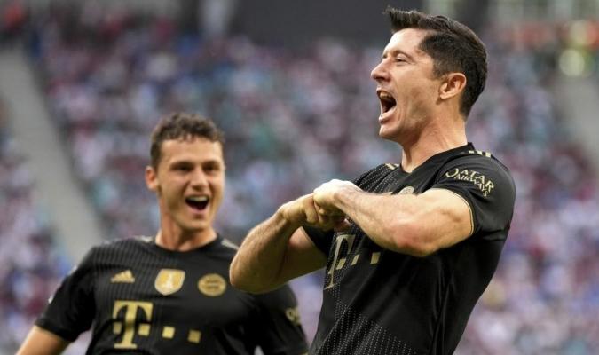 En el duelo más atractivo de la Bundesliga, Lewandowski no falló| AP