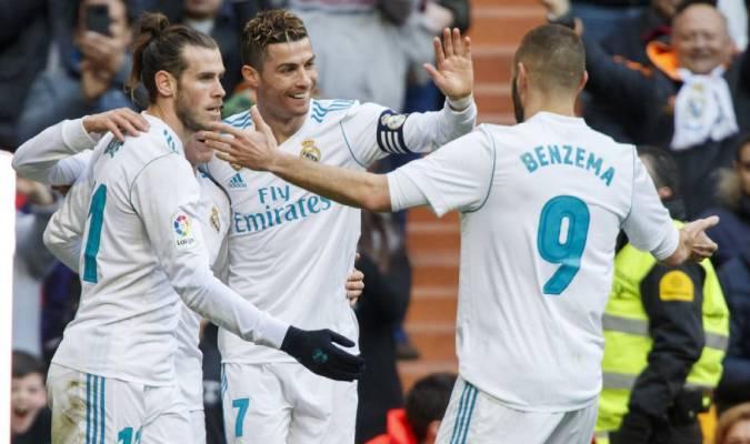 Benzema recordó el tridente con CR7 y Bale