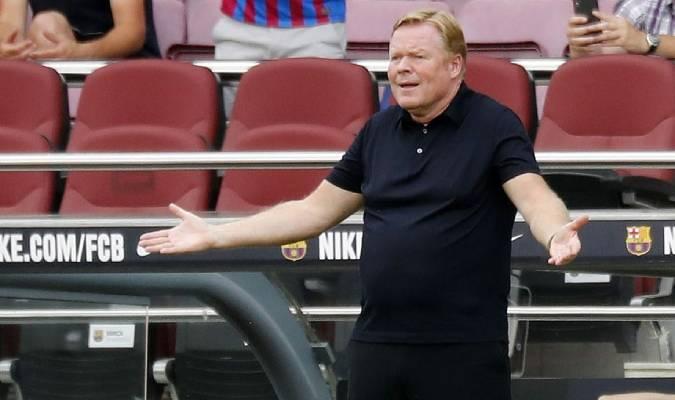 Koeman se siente optimista para el partido en Alemania