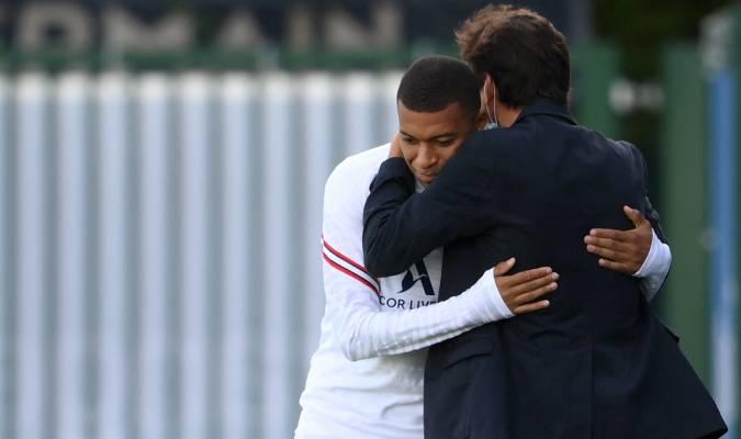 Leonardo asegura que Mbappé no se irá a final de temporada