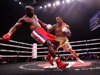 El boxeador que le dio una paliza a un Holyfield que lucía lento y confundido / foto cortesía