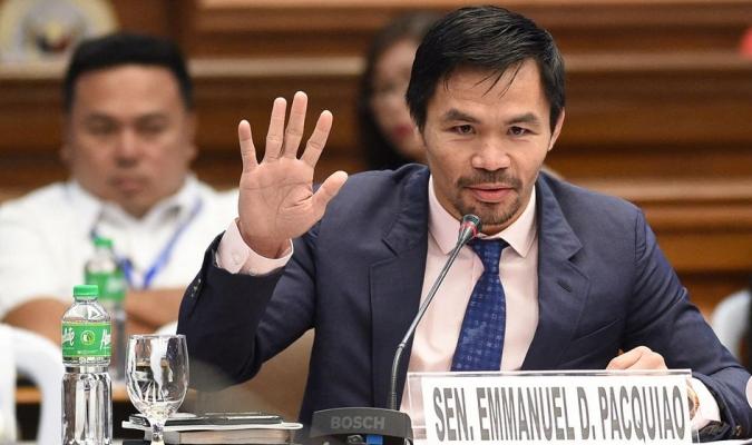 Manny Pacquiao concurrirá como candidato a presidente en las elecciones de 2022 en Filipinas