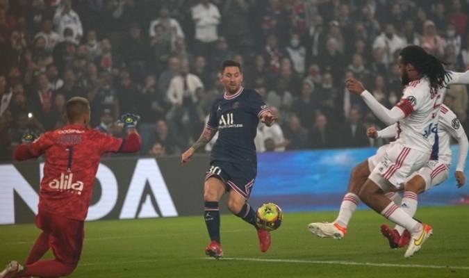Pochettino sacó a Messi a los 75 minutos del partido