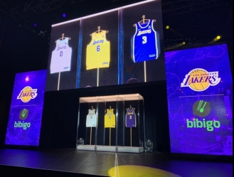 El nuevo contrato firmado por los Lakers con Bibigo será por cinco temporadas y el equipo angelino