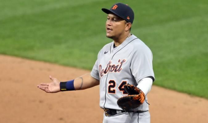 En la primera base, Cabrera ha registrado 359 entradas