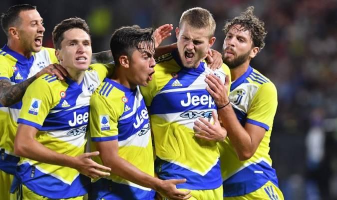 El equipo de Massimiliano Allegri estuvo contra las cuerdas