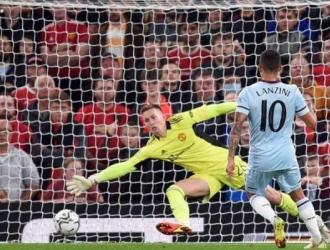 Manuel Lanzini anotó el único tanto del partido a favor del West Ham